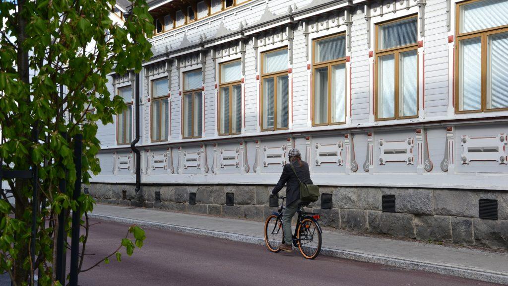 Kaupunkipyöräilijä